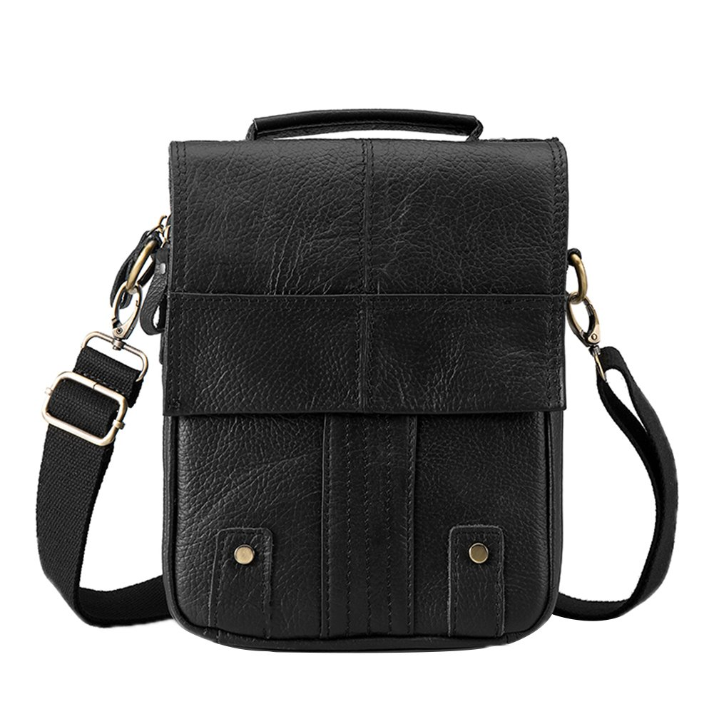 Genda 2Archer Vintage hommes petit sac /à main en cuir sacs de travail