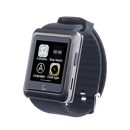 Reloj deportivo Smartwatch-inteligente con Bluetooth ...