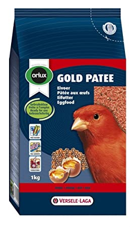 Versele-Laga Orlux Gold Patee Red Canary Moist Eggfood 1Kg 424023: Amazon.es: Productos para mascotas