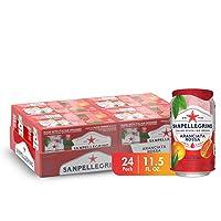 Amazon.com deals on 24-Count Sanpellegrino Blood Orange Sparkling Fruit 11oz