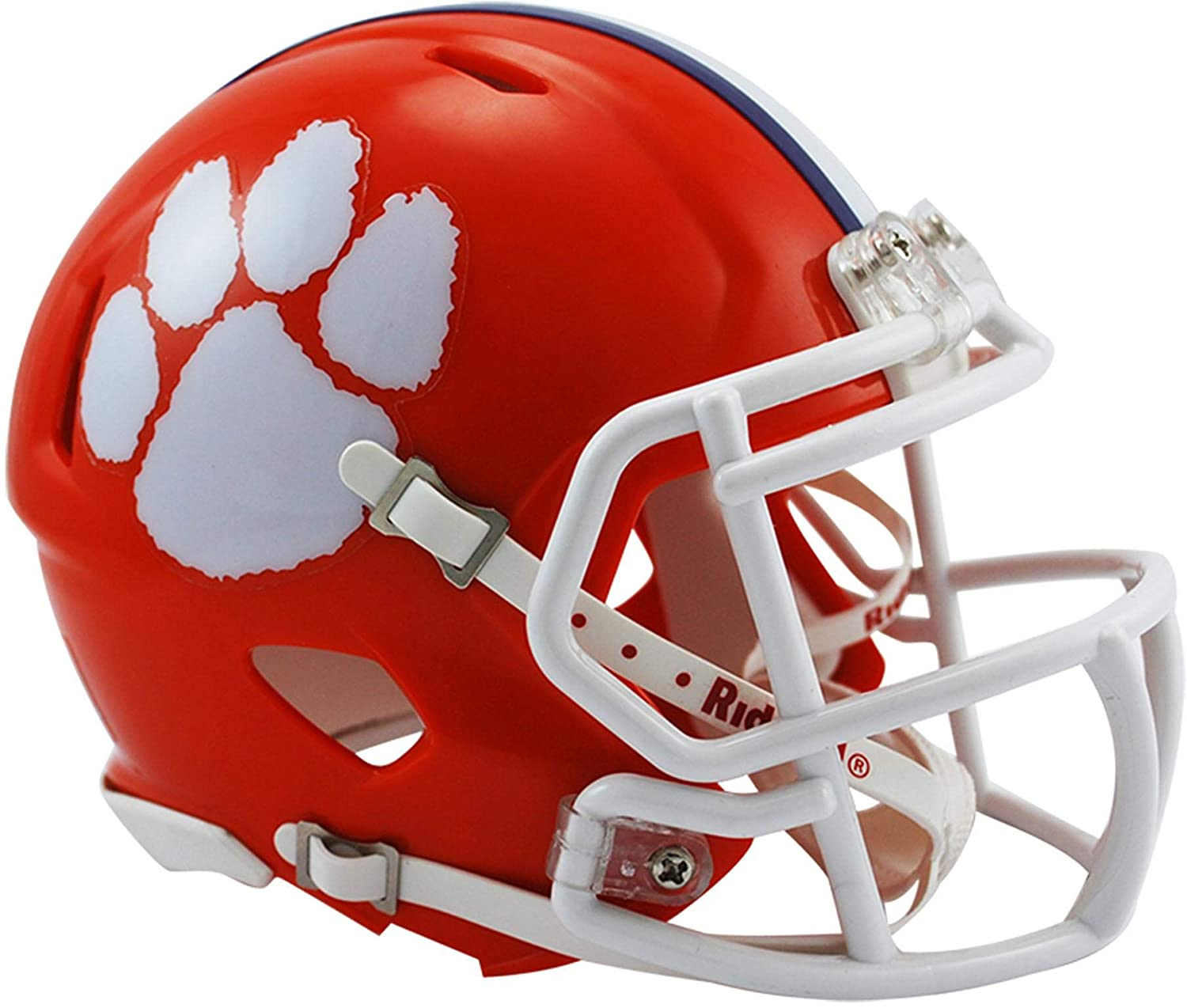 Sports Memorabilia Riddell Clemson Tigers Revolution Speed Mini Football Helmet College Mini Helmets