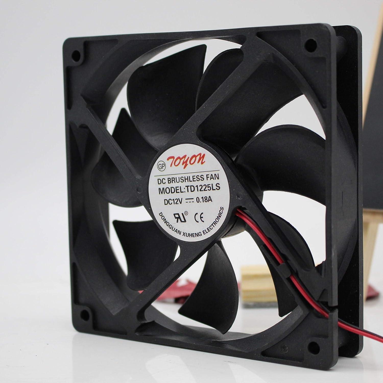 for TONON TD1225LS 12025 12V 0.18A 12CM 12012025mm Cooling Fan