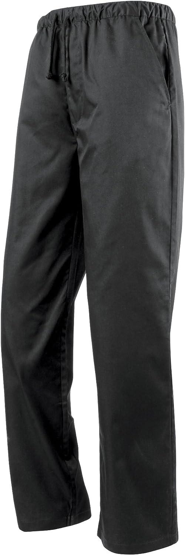 Unisex Pantaloni da Chef Girovita Elasticizzato Premier