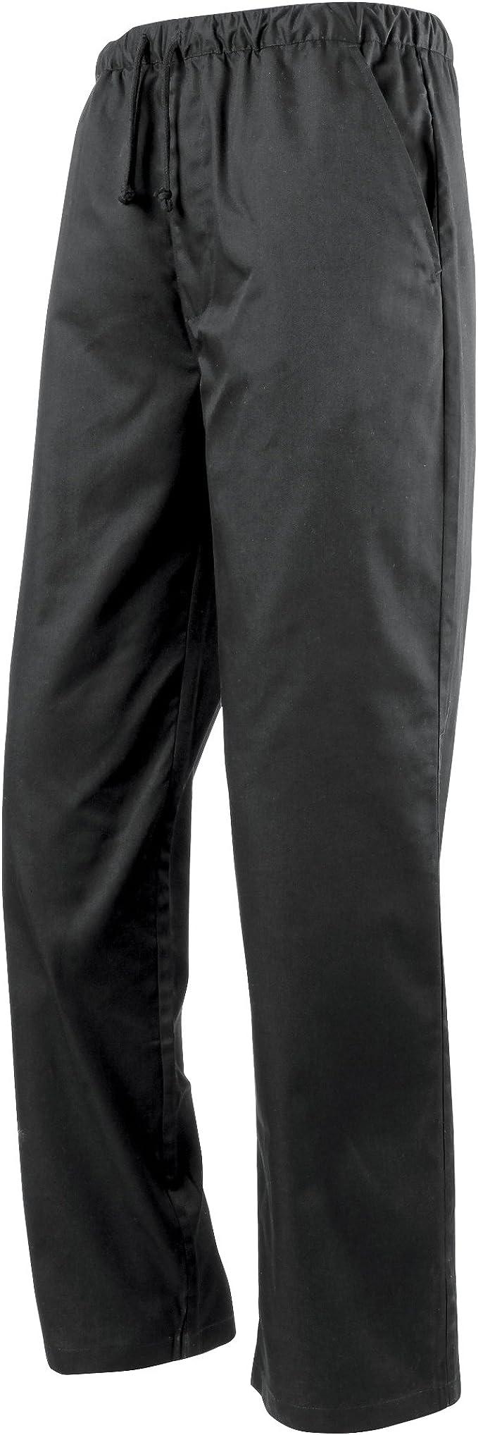 Premier Pantaloni da Chef Girovita Elasticizzato Unisex