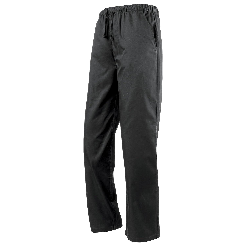 Premier - Pantaloni da Chef Girovita Elasticizzato - Unisex PR553