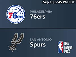 Amazon com: Watch NBA Beta: Philadelphia 76ers vs  San