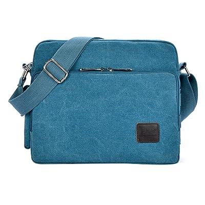 1b12391786 Fansela(TM) Multifunction Canvas Messenger Handbag Outdoor Crossbody  Shoulder Pack