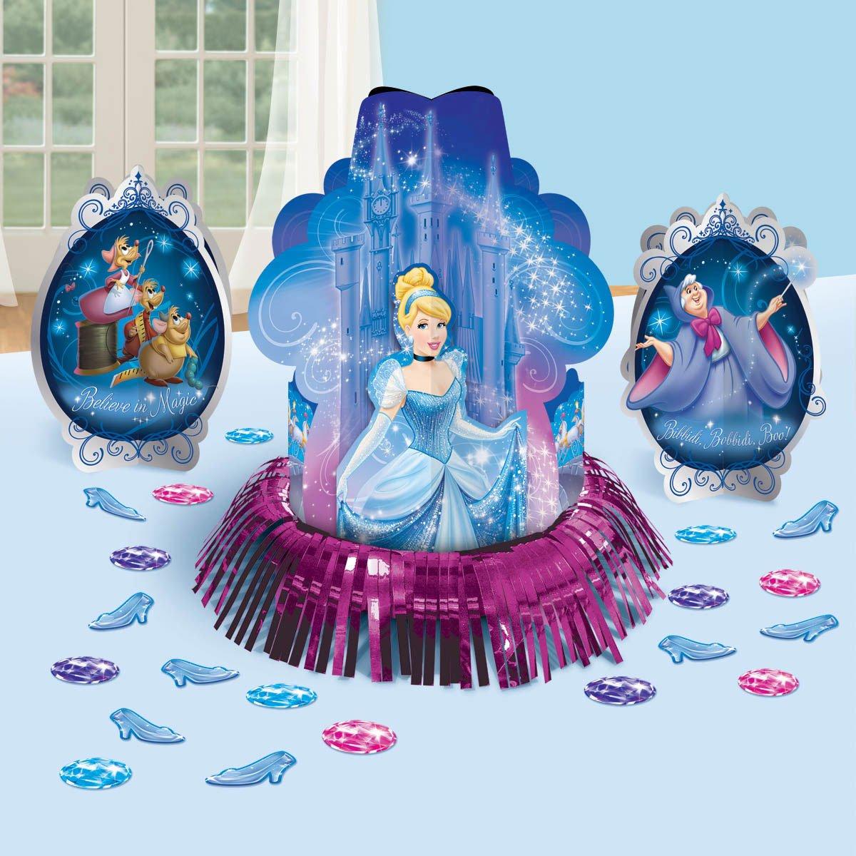 Amazon.com: Cinderella \'Sparkle\' Table Decorating Kit (23pc): Toys ...