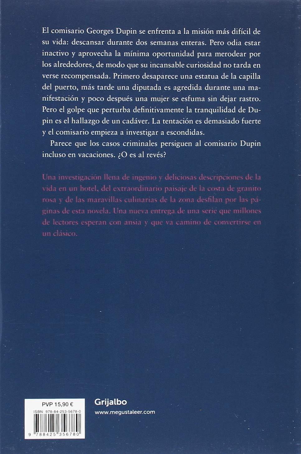 Desaparición en Trégastel (Comisario Dupin 6): Amazon.es: Jean-Luc  Bannalec, Marta Mabres Vicens;: Libros