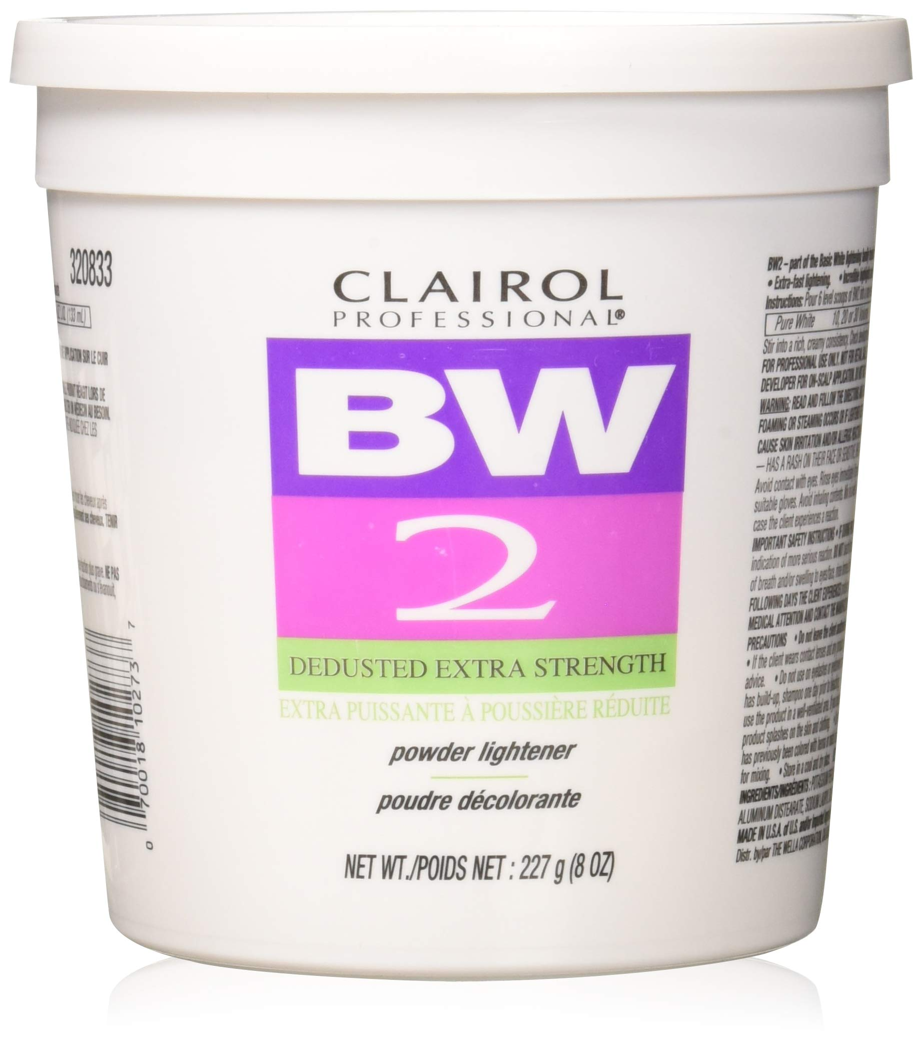 Clairol Bw2 Powder Lightener 2 LB by Clairol