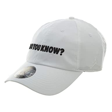 1dac60207e1 Nike Mens JORDAN H86 D.Y.K. CAP AA3790-100 - WHITE BLACK at Amazon ...
