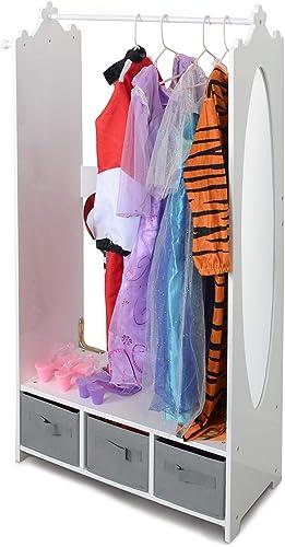 Milliard Dress Up Storage Kids Costume Organizer Center