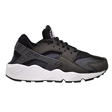 393a0caf5ab Nike Air Huarache Run Women s Shoes Black Black-White 634835-006 (8
