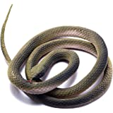 FunLavie Rubber Snake Realistic Gag Gifts Plastic Funny Toy Snake 47 Inch