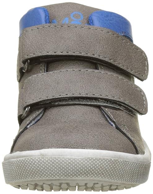 Mod8 581280-10-123 - Zapatos Primeros Pasos de Piel sintética para Niño, Color Gris, Talla 26 EU