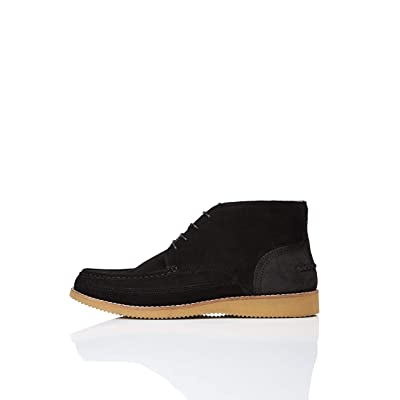 Brand - find. Men's Wedge Sole Leather Ankle Boot: Shoes