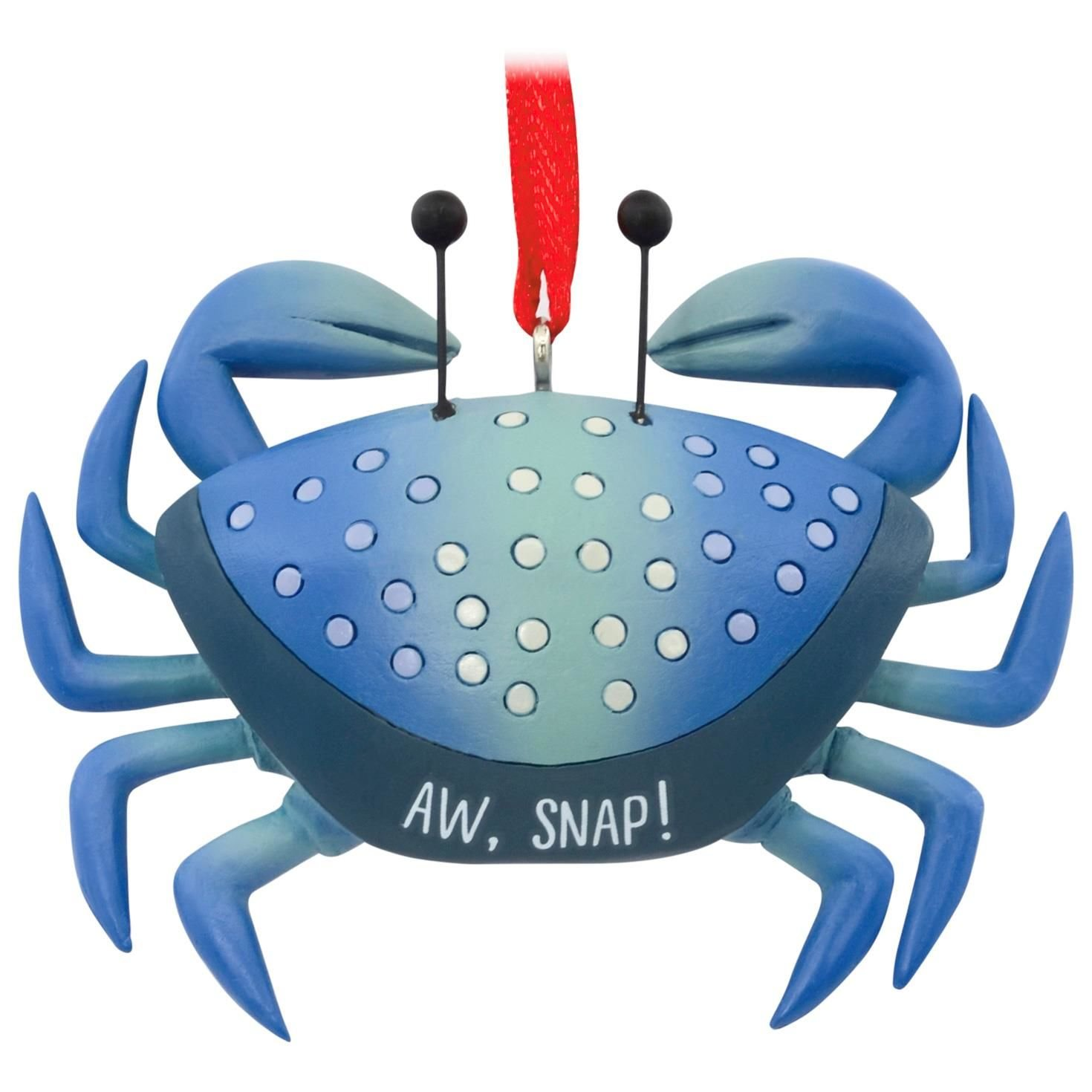 Aw, Snap Blue Crab Hallmark Ornament Animals & Nature