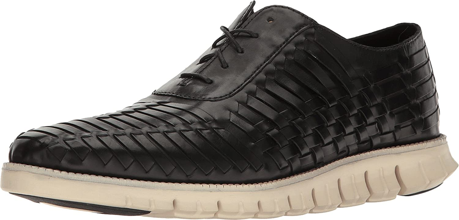 03292dbdb4ba5 Cole Haan Men's Zerogrand Huarache Oxford Black Shoe: Amazon.co.uk ...