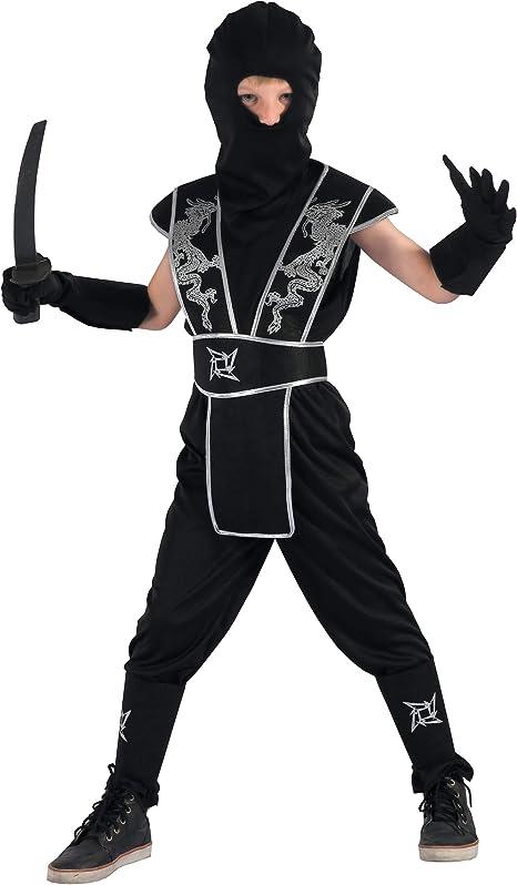 Generique - Disfraz de Ninja Estrella Shuriken Niño M 7-9 años ...