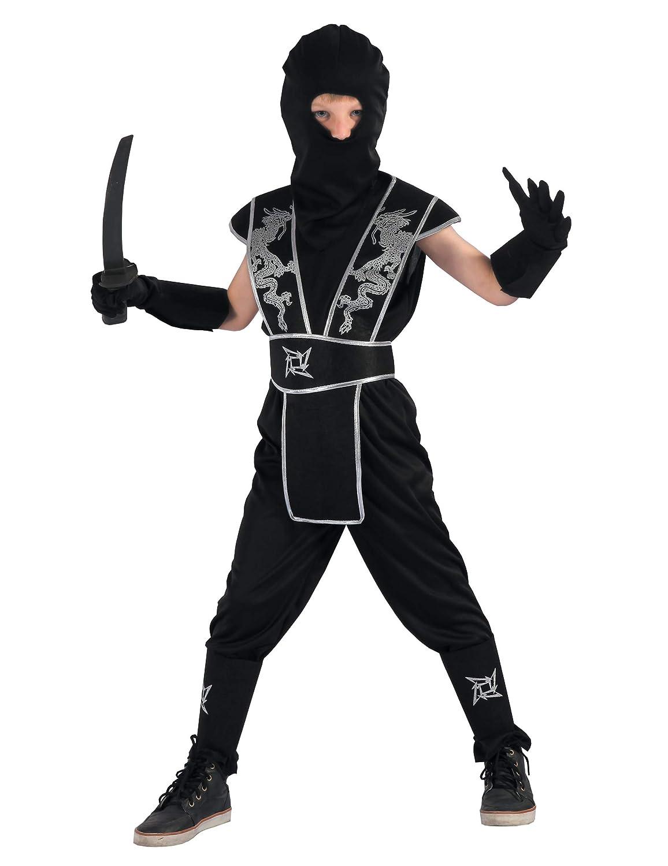 Generique - Disfraz de Ninja Estrella Shuriken Niño M 7-9 ...