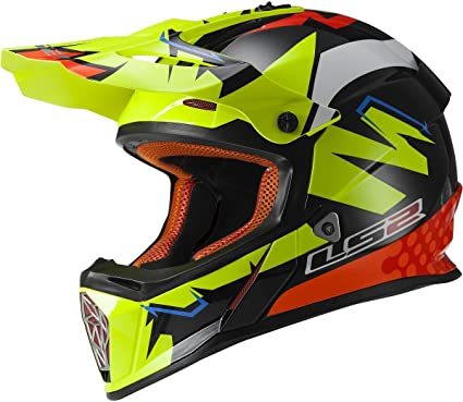 Amazon.com: LS2 Helmets casco de fibra de vidrio Infinity ...