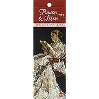 Frauen & Lesen Lesezeichen & Kalender 2020 6x18cm