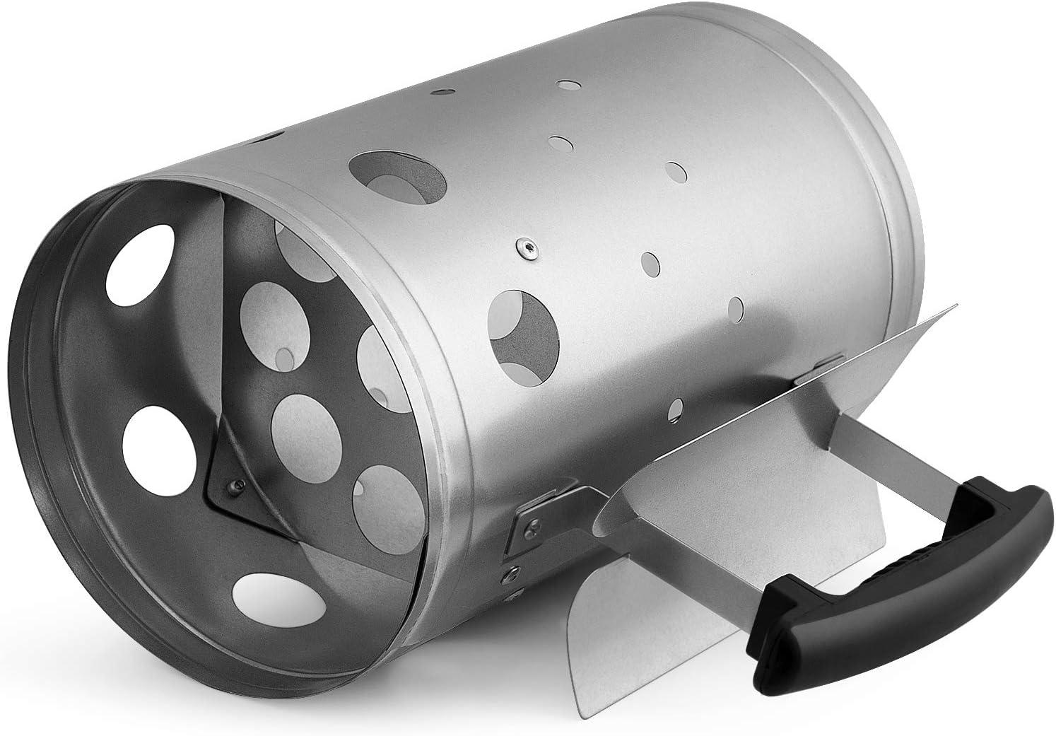 Amazon.com: Chimenea de carbón para encendedor de barbacoa ...