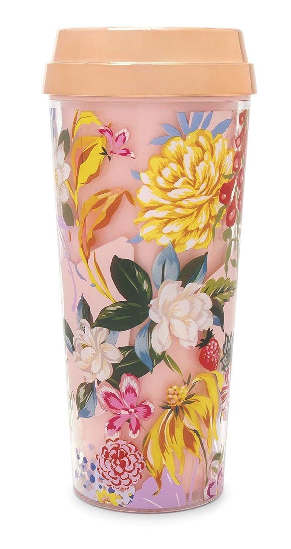 Insulated Floral Travel Mug