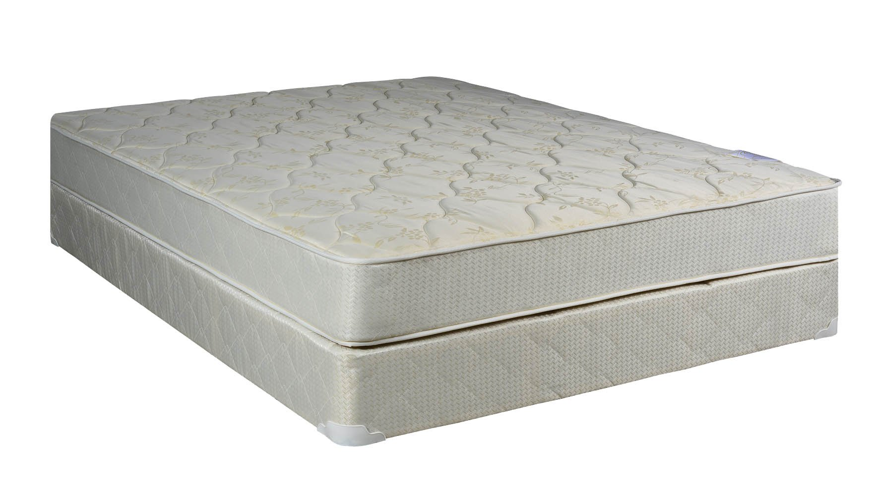 Spinal Solution, Twin Size Assembled Orthopedic Mattress With 4-inch Box Spring Sensation Collection by Spinal Solution