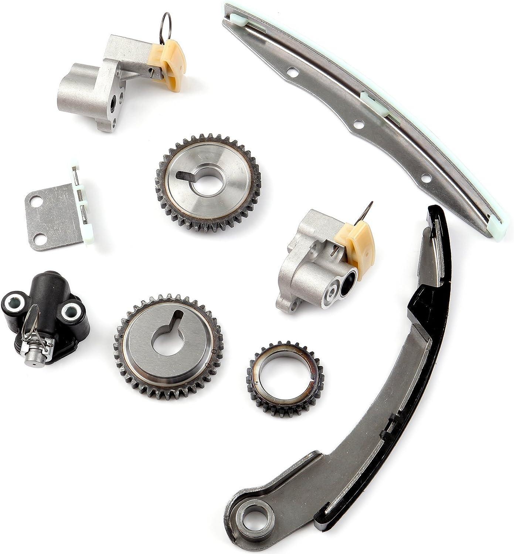 Scitoo TK3034WOP Timing Chain Kit Fits Nissan Altima Maxima Quest 3.5L 3.5 VQ35DE 2004-2009