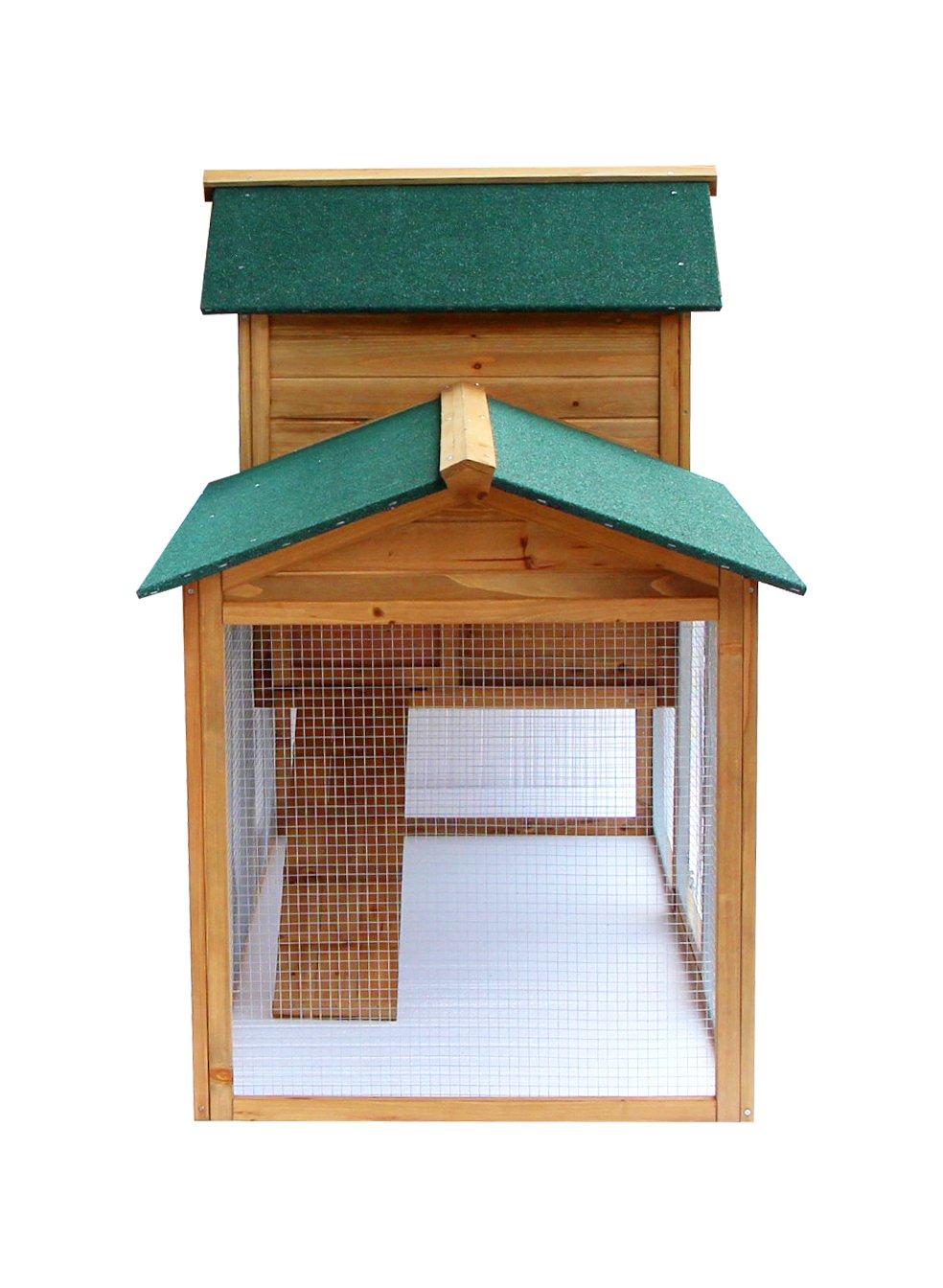 Lovupet 2135 - Gallinero, jaula, aviario de madera, para animales ...