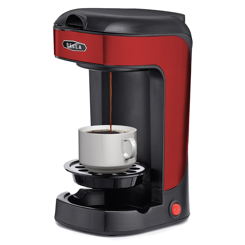 Bella One Scoop One Cup Coffee Maker Machine Simple Brew Coffeemaker