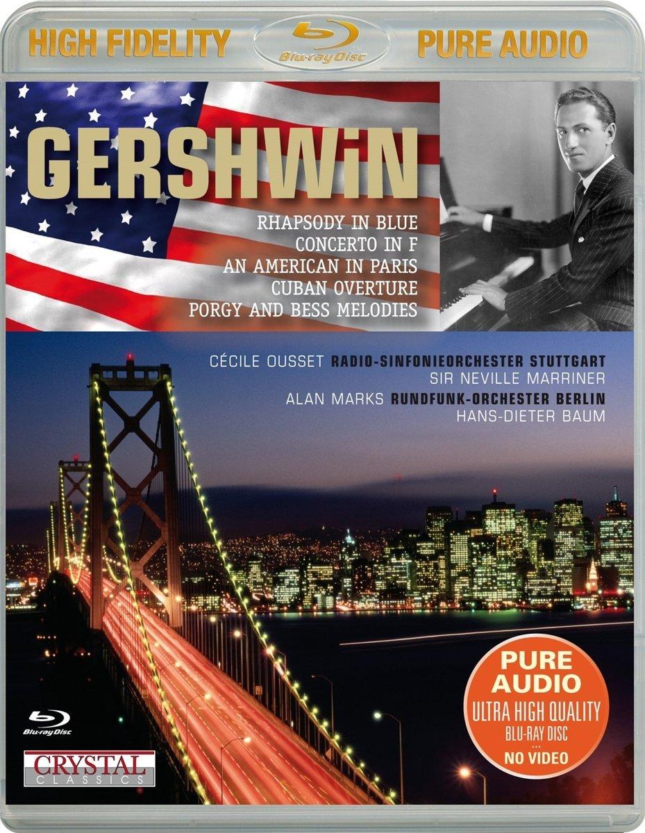 Blu-ray Audio : QUSSET / MARKS / RADIO-SINFONIE ORCH STUTTGART - Gershwin-best Of (Blu-ray Audio)