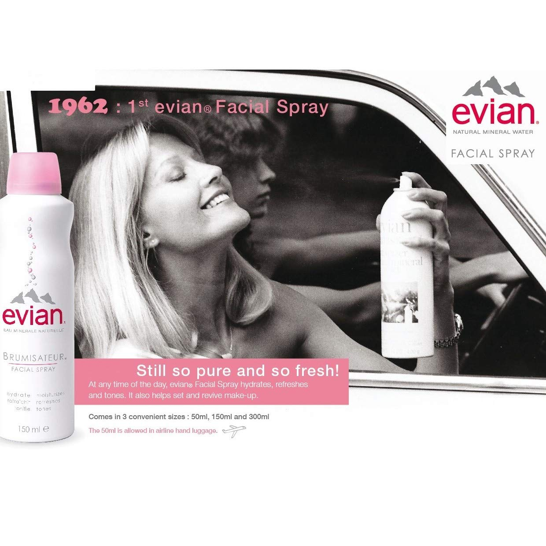 Evian Brumisateur Facial Spray 150ml Beauty 300ml