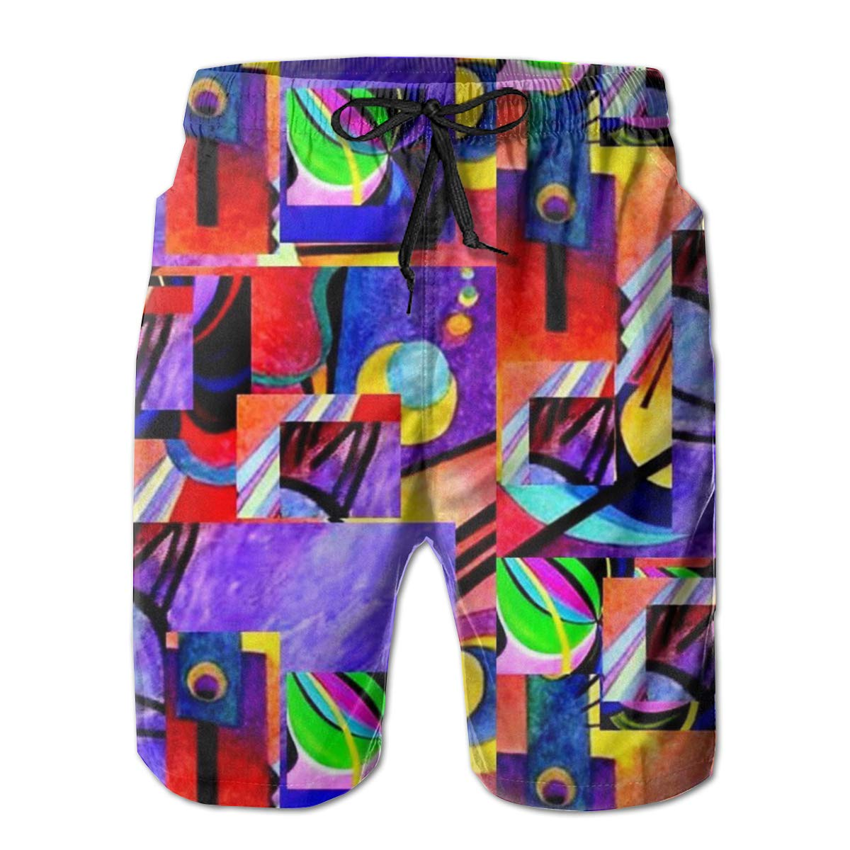 Swimsuit Novelty Sports Beach Shorts Men Teens Gift Running Board Shorts