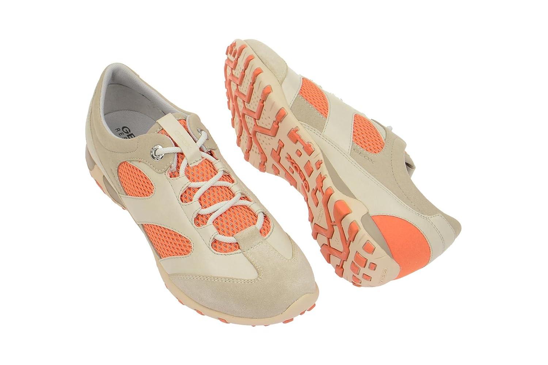 Geox Schuhe FRECCIA grau Damenschuhe D52C0A 014AU C2046 NEU