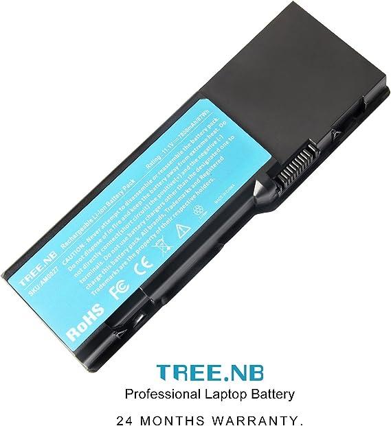 Fit P//N Tree.NB Batterie pour Ordinateur Portable pour Dell Inspiron E1505 1501 6400 PP23LA PP20L Dell Vostro 1000 Dell Latitude 131L 0UD260 BD41 CR174 D6400 GD761 HJ607 HK421 JN149