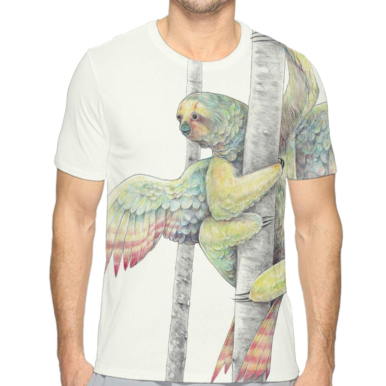 Circular Custom T Shirts Ultra Soft Angel Sloths Unisex Cotton T Shirt