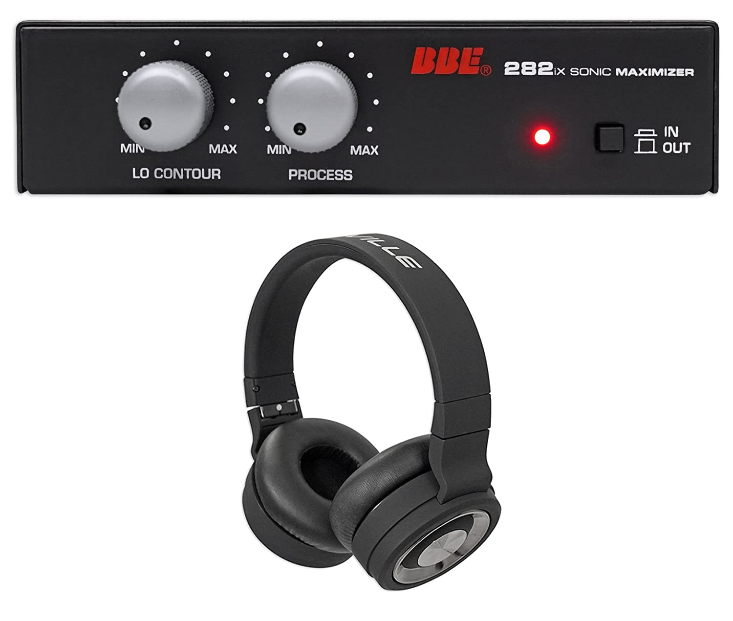 BBE 282IX Desktop Sonic Maximizer w/XLR Inputs/Outputs+Free Wireless Headphones 282IX+BTH5
