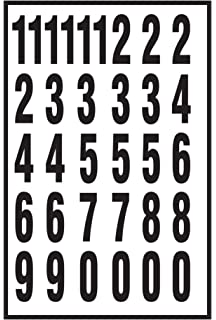 Amazon Com The Hillman Group 847015 3 Inch Die Cut Letters Numbers