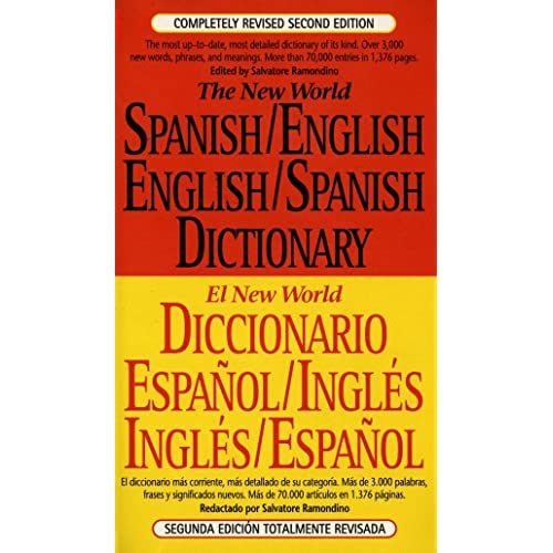 The New World Spanish/English, English/Spanish Dictionary (El New World Diccionario