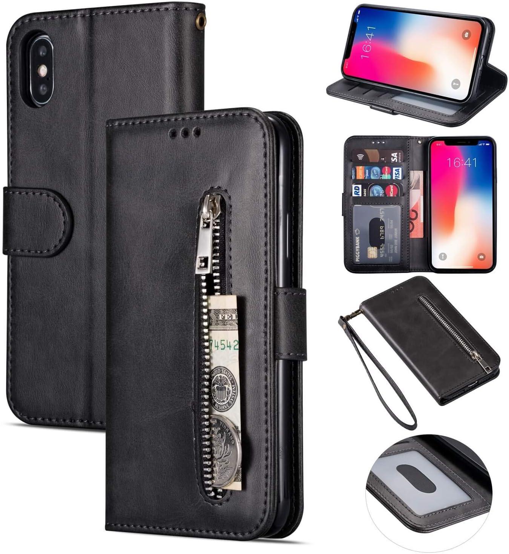 Ztofera Iphone X Hülle Magnetisch Folio Flip Wallet Elektronik