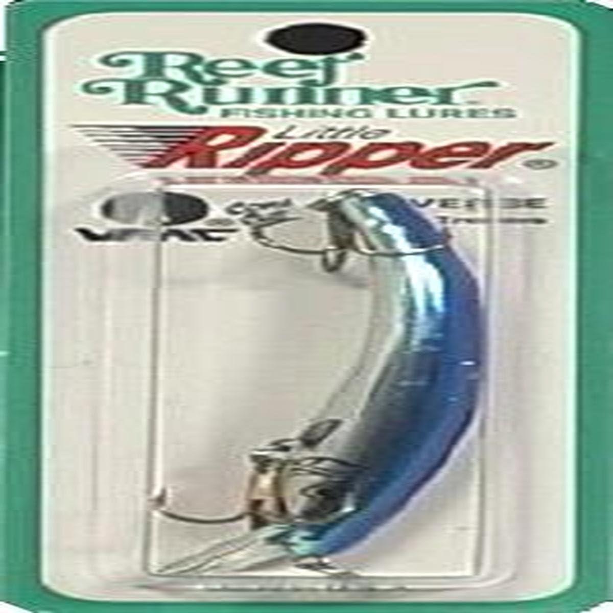 Chrome Blue 3-3//4-Inch Reef Runner 500 Series Little Ripper
