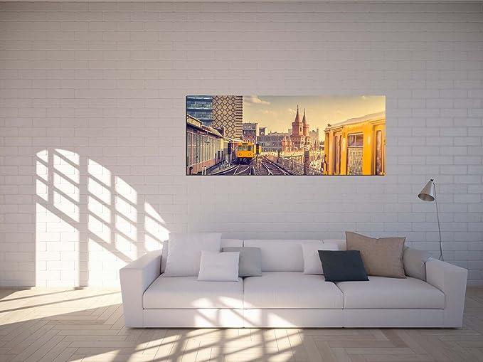 Glasbilder Wandbilder 125 x 50cm Berlin Nacht AG312502311