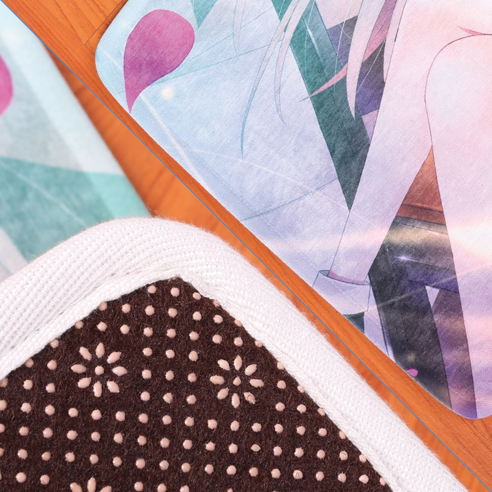 Memory Foam Bath Mat,Spa Decor,Sand Orchid and Massage Stones in Zen Garden Sunny Day MeditationPlush Wanderlust Bathroom Decor Mat Rug Carpet with Anti-Slip Backing, by iPrint (Image #4)