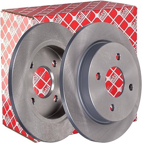 set di 2 dischi posteriore febi bilstein 05652 disco freno