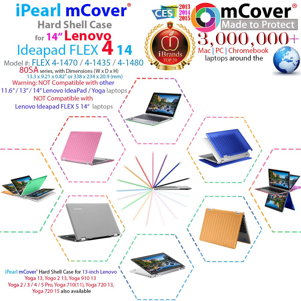 mCover Hard Shell Case for New 14
