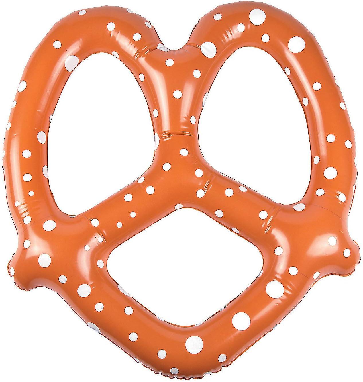 Fun Express Inflatable Oktoberfest Pretzels - Pack of 6