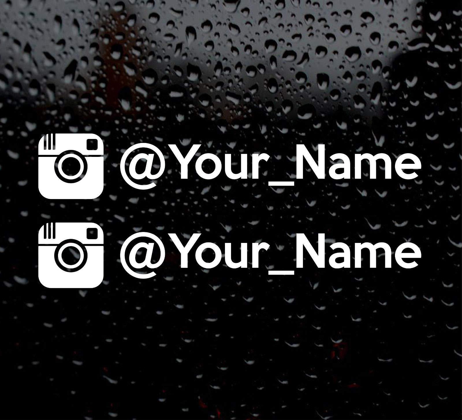 Namensaufkleber Auto Sticker Tuning Aufkleber Ihr Name 2 cm hoch Glas Tür Car