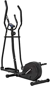 Equipment Home Gym Cross Trainer Elliptical Machine Cross Trainer 2 in 1 Exercise Bike Cardio Fitness Home Gym Equipmen Magnetic Cardio Workout 156x80x47cmSports Indoor Multifunction Home Aerobic